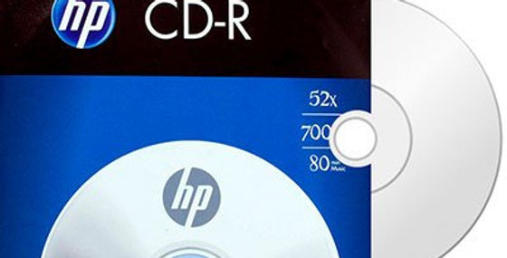 CD-R GRAVAVEL HP ENVELOPE 700MB