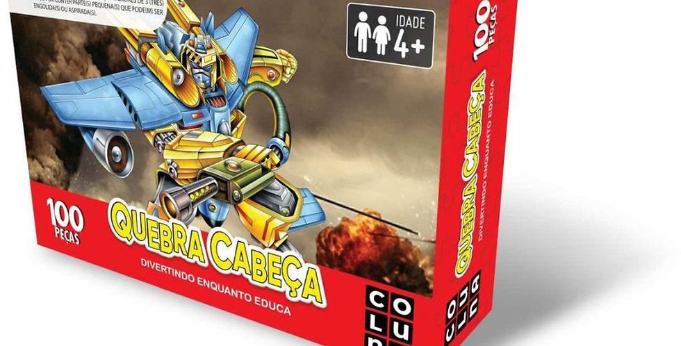 QUEBRA-CABECA CARTONADO ROBOS 100 PCS UNIDADE 2197 REVAL