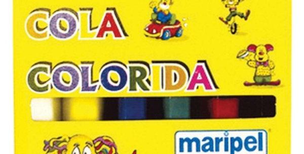 COLA COLORIDA EST. 6 CORES MARIPEL