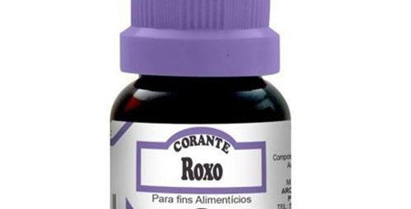 CORANTE ROXO FRASCO 10ML ARCOLOR