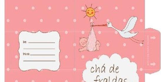 CONVITE C/10 - CHA DE FRALDA MOD 02