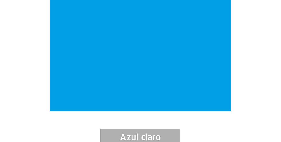 PLACA EVA COLOR 40CMX60CM AZUL CLARO LEOARTE