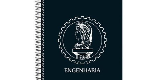 CADERNO UNIVERSITARIO 10 MATERIAS 200FLS ENG CIVIL