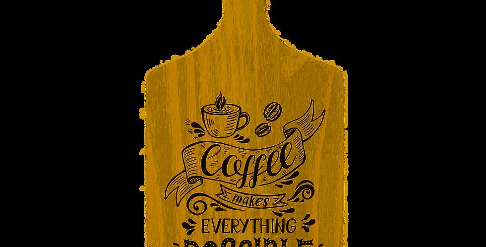 TABUA DE CORTE DE MADEIRA PINUS COFFEE