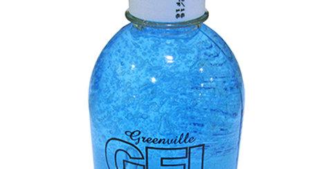 GEL AZUL EFEITO BRILHO MOLHADO GREENVILLE 230 G