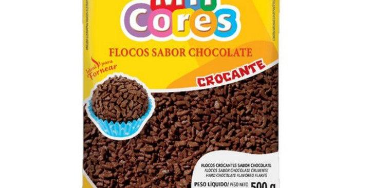 FLOCOS CROC.SAB.CHOCOLATE 500GR MAVALÉRIO