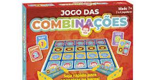 JOGO DAS COMBINAÇÕES - SUPER JOGOS PAIS E FILHOS