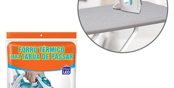 CAPA/FORRO P/TABUA DE PASSAR TERMICO SIMPLES 100X35CM 510 PLAST LEO