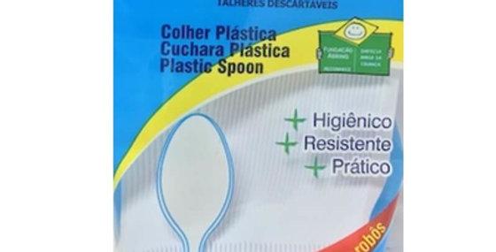 COLHER SOBREMESA C/50 SERT PLAST
