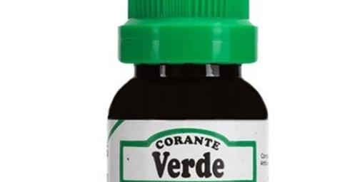 CORANTE VERDE  FRASCO 10ML ARCOLOR