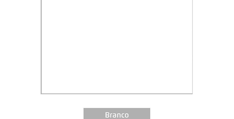 PLACA EVA COLOR 40CMX60CM BRANCO LEOARTE