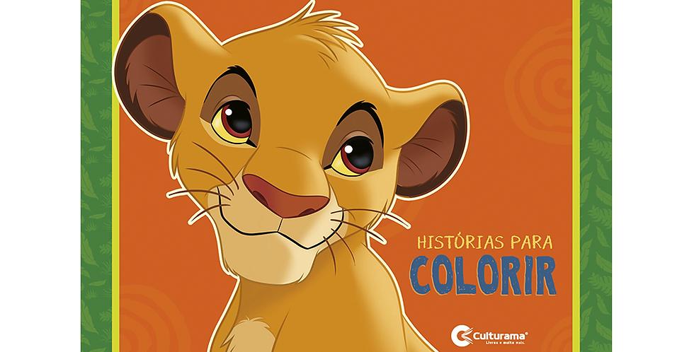 REI LEAO HISTORIAS PARA COLORIR