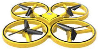 DRONE QUADRICOPTERO C/ CONTROLE POR GESTOS E SENSOR