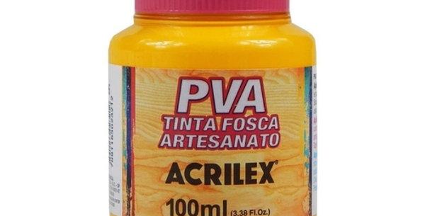 TINTA FOSCA P/ ARTES. 100ML ACRILEX AM OURO 505(E)