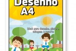 BLOCO DESENHO BRANCO 150G A4 20FLS BEST(E)