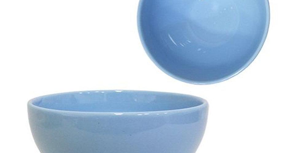 Tigela Cumbuca de Porcelana Bowl Azul 300ml