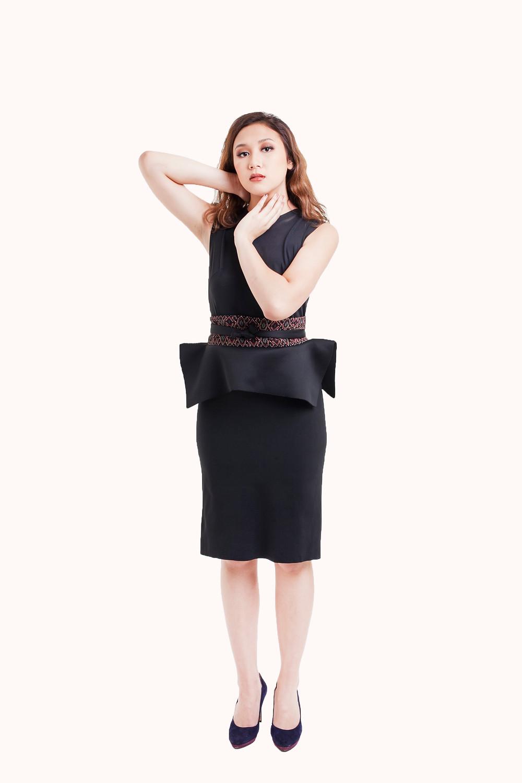 Dress with not-so ordinary obi belt
