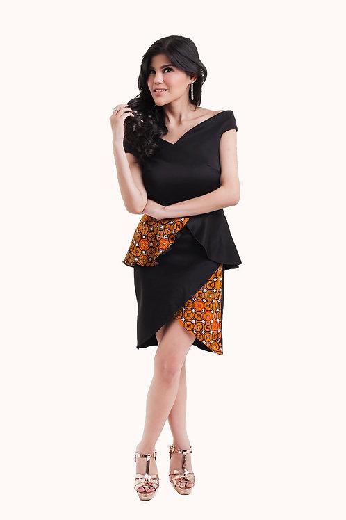 Deeta Black (Different Batik available)