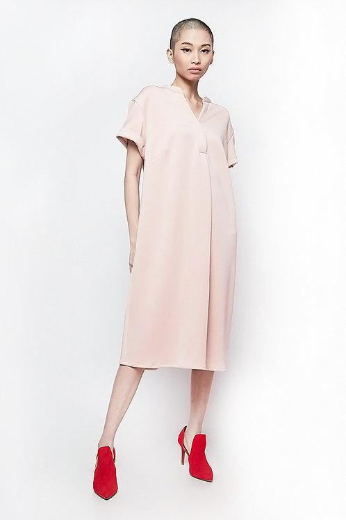 Nisaka Summer Dress Light Pink