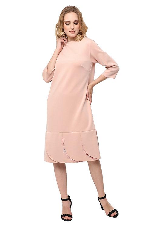 Kani Loose Dress Dusty Pink