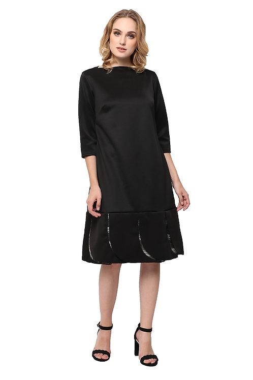 Kani Loose Dress Black