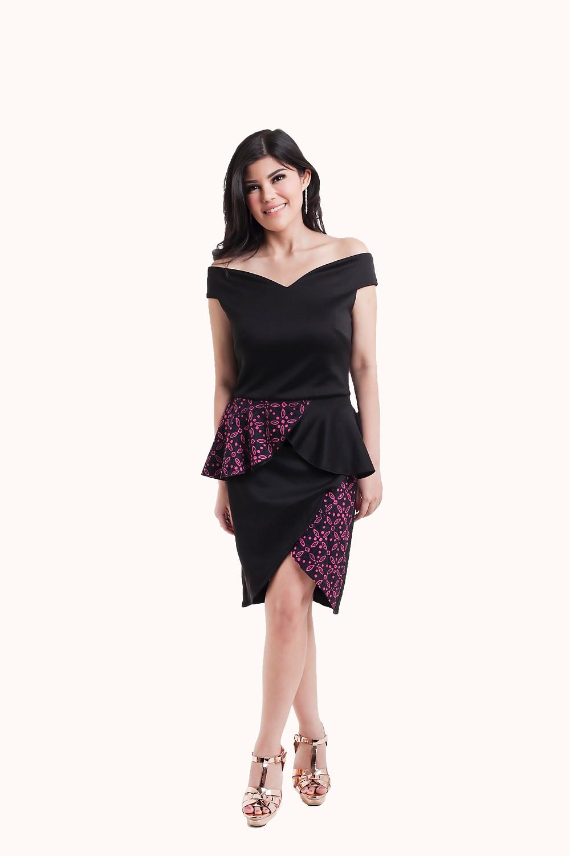 Minitik x Dita.S - Off shoulder with Batik