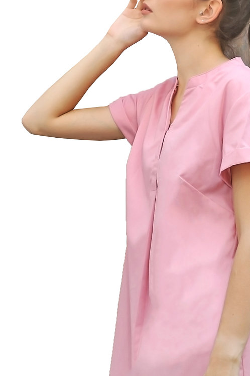 Nisaka Summer Dress Pink