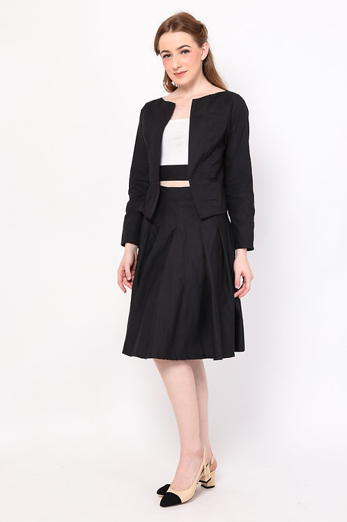 Charlene Skirt Black