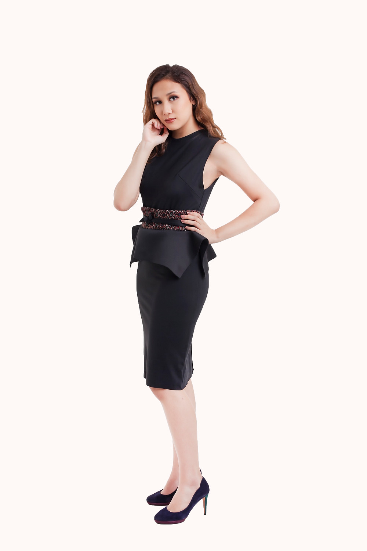 Classy Black Dress as seen in Selena Gomez