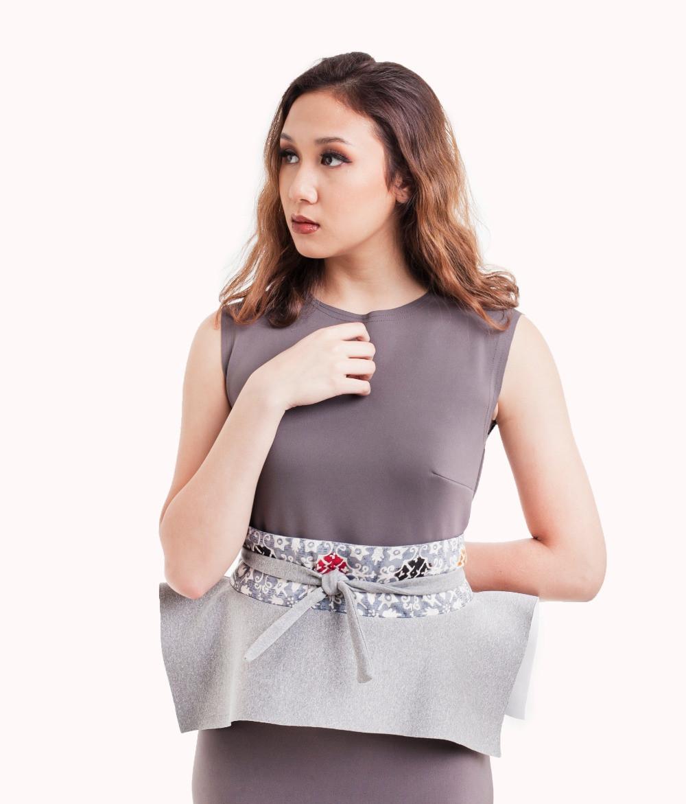 Stylish with Obi belt - Fashion Blogger
