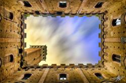Sky of Siena