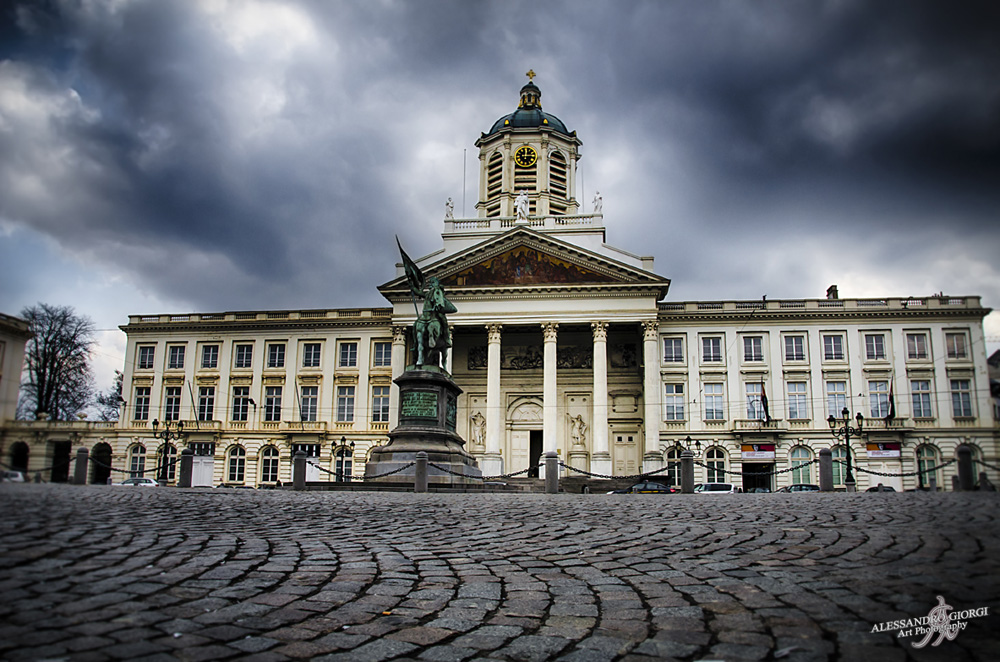 Wandering through Bruxelles