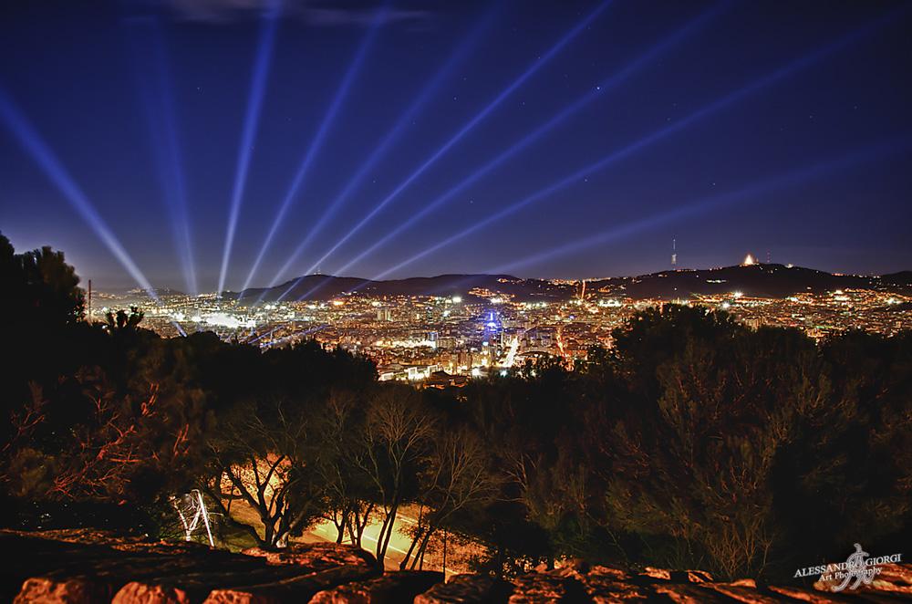 Into the Barcelona's lights