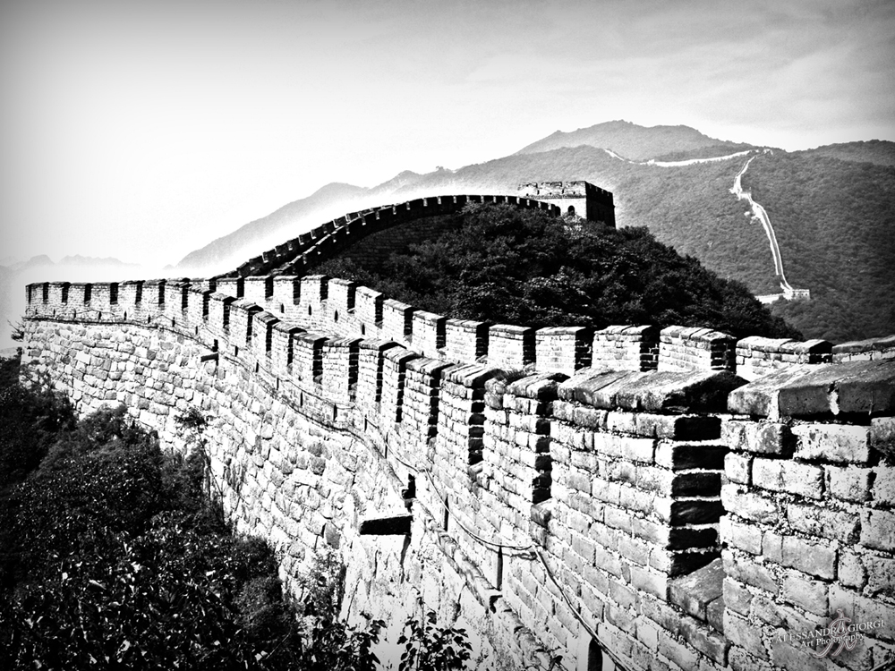 Black & White Great Wall