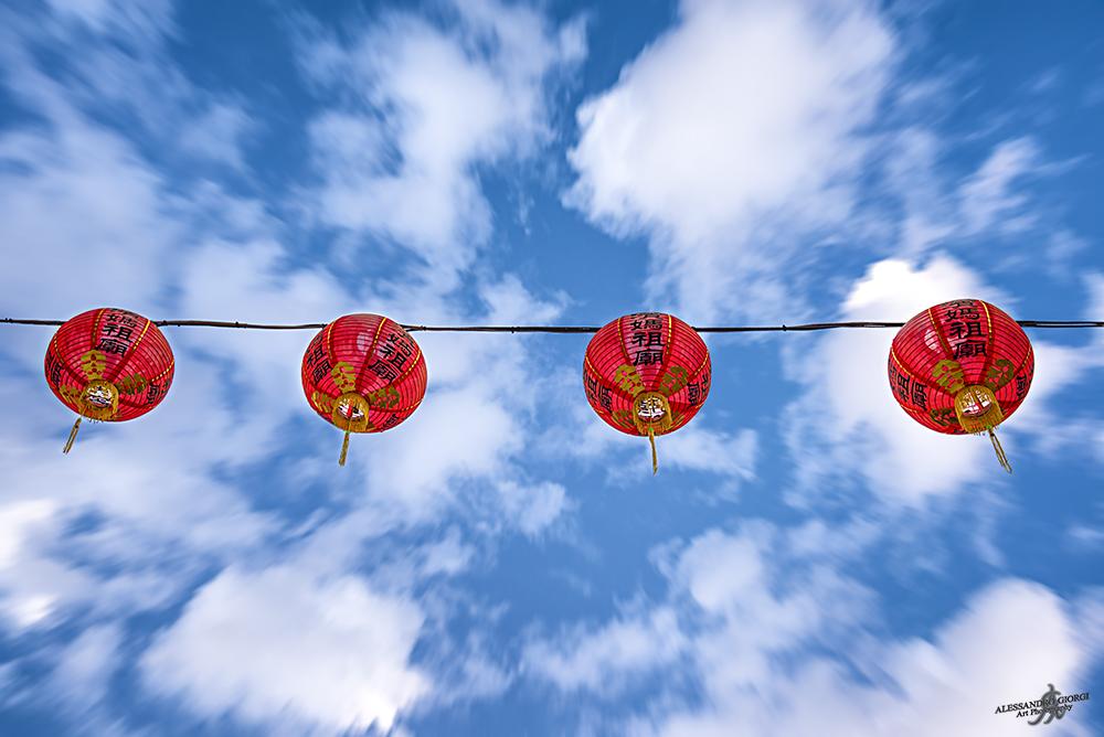Oriental sky