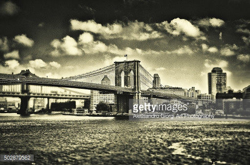 GETTY IMAGES - Old times in Brooklyn