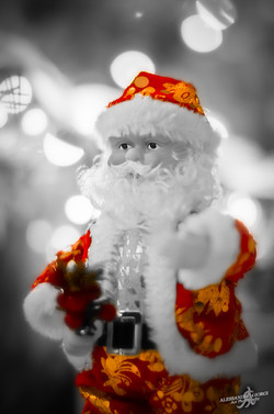 The color of Santa Claus