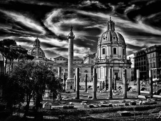 JPG PRINTED ART - Traiano Column