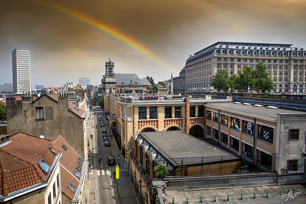 Rainbow on Bruxelles