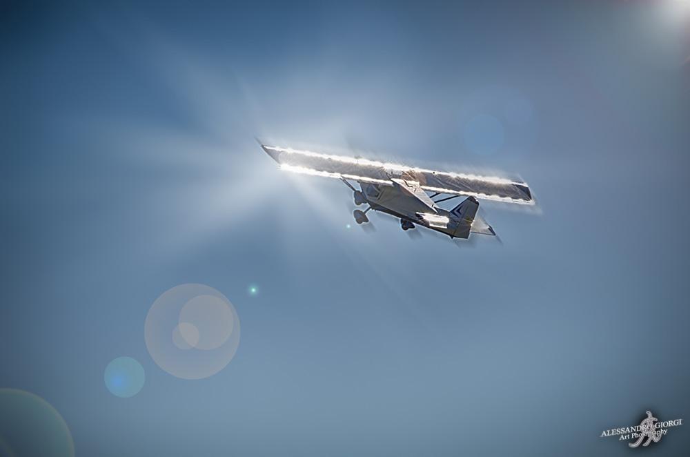 A shiny flight