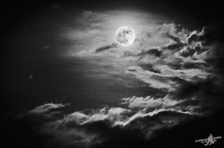 Moon and clouds (2)