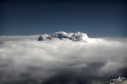 Hill of clouds