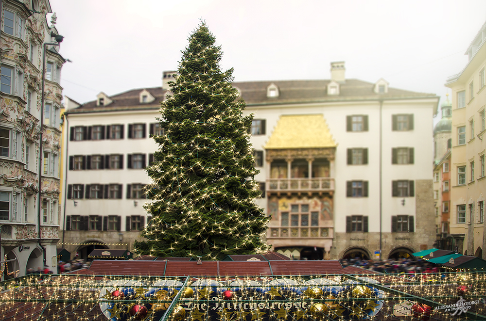 Decorated Innsbruck