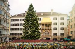 Decorated Innsbruck