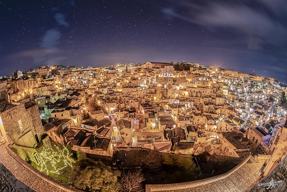 Matera under the stars
