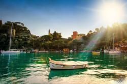 Portofino in backlight