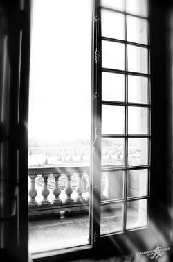 Window on the gardens