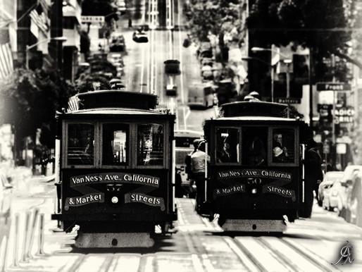 PRINTED ART - San Francisco .... classic