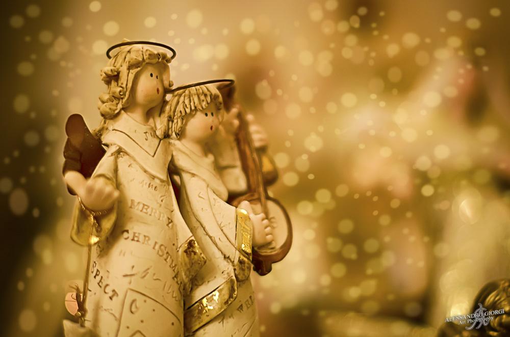 Christmas musicians