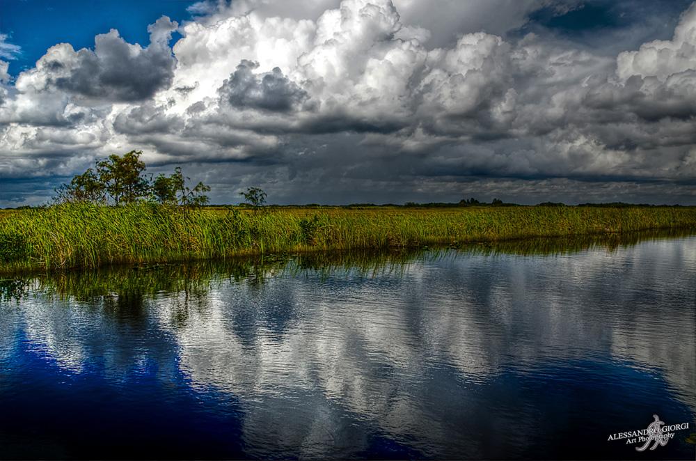 Storm reflection